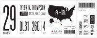 Redesigning the Boarding Pass - Journal - Boarding Pass / Fail — Designspiration