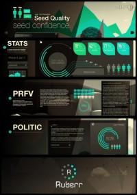 Ruberr / UI Website & Data Visual on