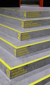 Signage / Wayfinding Westerdals on Behance — Designspiration