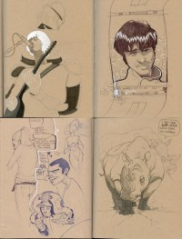 Sketchbook Dump 2003-2009 on
