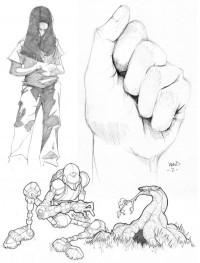 Sketchbook Dump 2003-2009 on