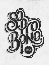 So pro bono | Flickr - Photo Sharing! — Designspiration
