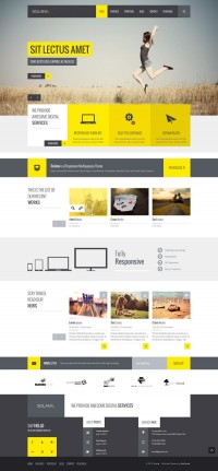 Solana – Multipurpose PSD Template on