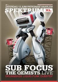 Spektrum XL 13 - Sub Focus & The Qemists on