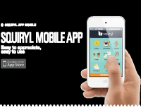 Squiryl Social Loyalty on your mobile phone on