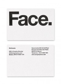 Stationery / Face — Design by Face. — Designspiration