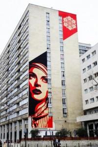 Street Art / Paris 13 - bd Vincent auriol- street art - street art