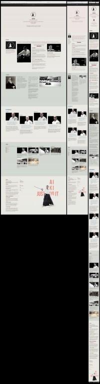 Suki Dojo Website One Page Responsive on