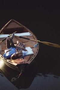 Summertime / Ruffled® | Rowboat Engagement Session