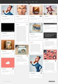 Super Grid, WordPress Premium Retina Masonry Portfolio on