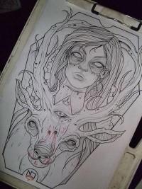 T H E A R T O F S K I N / Killer design. #tattoo #tattoos #ink