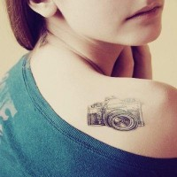 tattoos / #camera #tattoo