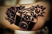 tattoos / camera tattoo