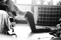 The Photography of Ira Chernova (Self-Portraits)   Ink Butter™   Tattoo — Designspiration