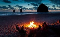 Things I Like / beach fires