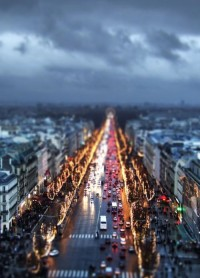 Things I Like / Tilt-shift perspective photography.