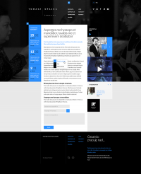 Tomasz Opalka Website Concept on