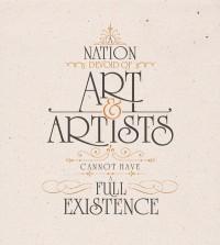 Typographic Ataturk Quotes on