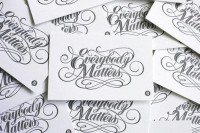 Typography / BryanPatrickTodd_EverybodyMatters_e — Designspiration