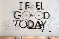 Typography / I feel good today