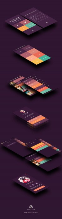 UI / TriplAgent Branding and Design — Designspiration