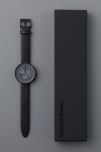 Uniform Wares - Minimal Watch — Designspiration