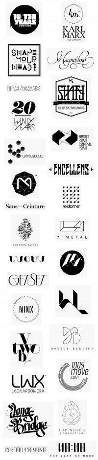Various Logos by Federico Landini | Typography