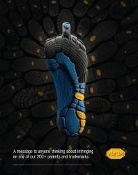 Vibram FiverFinger Print on