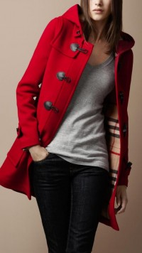 ? ~ Wanted Wearables ~? What a Girl Wants... ? What This Girl needs... ? My Wish list ? / {Wool Duffle Coat | Burberry}