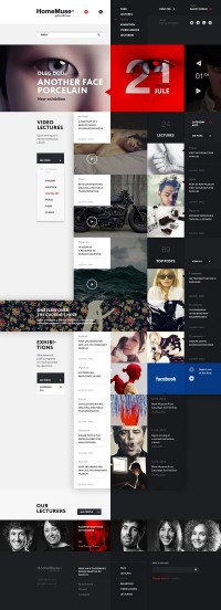 Web Design / HomeMuse