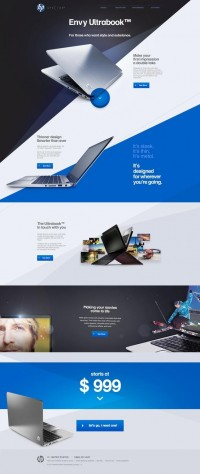 Web Design / HP Envy Ultrabook™ - Andre do Amaral