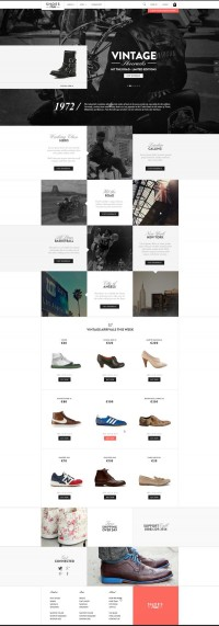 Web | Shoesprive Concept on