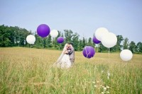 Weddbook ? Wedding photo with Purple and White ... | wedding photog...