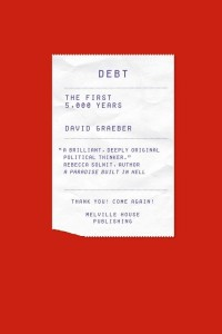 Winners of 50 Books/50 Covers 2011 / Debt by David Graeber