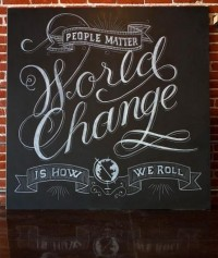 World Change is How I Roll - justlucky — Designspiration